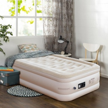 Inflatable Quilt Top Raised Upgraded Luxury Airbed