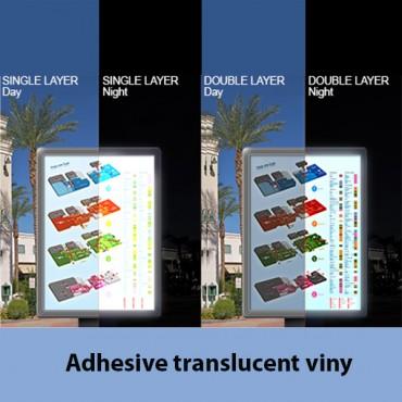 Adhesive Translucent Vinyl