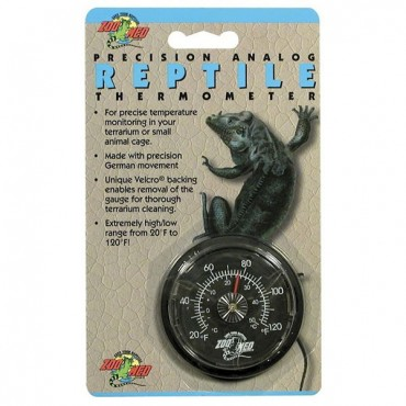 Zoo Med Precision Analog Reptile Thermometer - Analog Reptile Thermometer - 2 Pieces