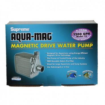 Supreme Aqua-Mag Magnetic Drive Water Pump - Aqua-Mag 12 Pump - 1,200 GP H