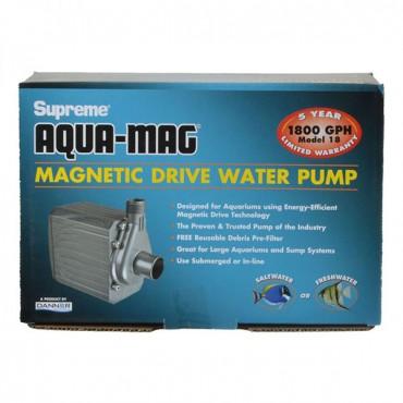 Supreme Aqua-Mag Magnetic Drive Water Pump - Aqua-Mag 18 Pump - 1,800 GP H