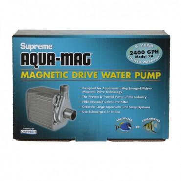 Supreme Aqua-Mag Magnetic Drive Water Pump - Aqua-Mag 24 Pump - 2,400 GP H
