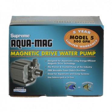 Supreme Aqua-Mag Magnetic Drive Water Pump - Aqua-Mag 5 Pump - 500 GP H