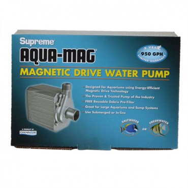 Supreme Aqua-Mag Magnetic Drive Water Pump - Aqua-Mag 9.5 Pump - 950 GP H