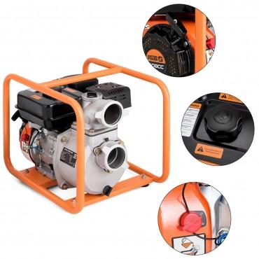 7 HP 4-Stroke Portable Gasoline Water Transfer Pump