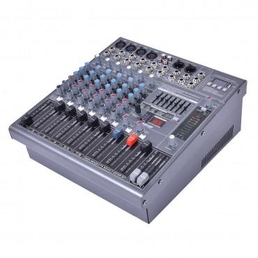 12 In. Professional 12 Channel DJ karaoke Music Mixer