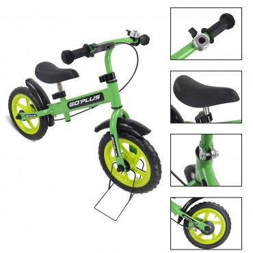 12 In. Three Colors Kids Bicycle Scooter With Brakes And Bell