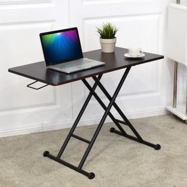 Height Adjustable Converter Sit-Stand Computer Desk