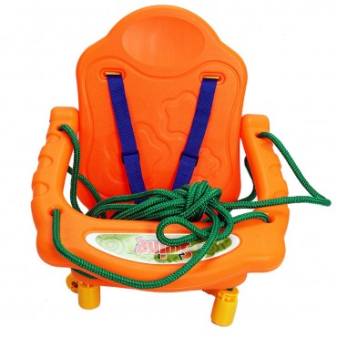 Outdoor Playground Kids Swing Seat Chai W / Rope