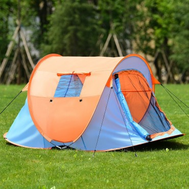 Portable Water Resistant Automatic Pop-Up Tent