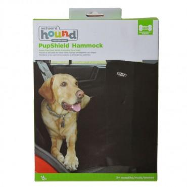 Outward Hound Back Seat Hammock - Black - Back Seat Pet Hammock