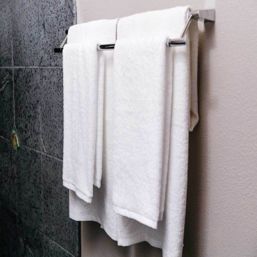 Dozen Bath Towel Set White - 27 in. x 54 in.