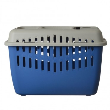 Marchioro Binny Top Pet Carrier - Blue - Binny 1 17.25 L x 11.5 W x 11.5 H
