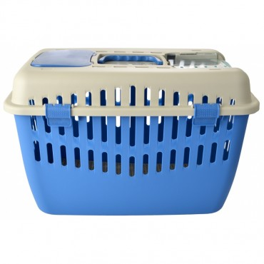 Marchioro Binny Top Pet Carrier - Blue - Binny 2 19 L x 12.5 W x 12.5 H
