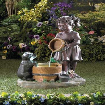 Bucketful Outdoor Fountain
