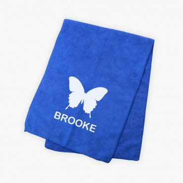 Butterfly Kids Bright Microfiber Terry Sport Towel