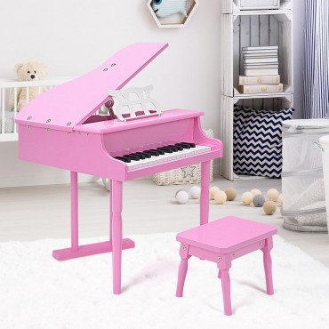 30 - Key Children Grand Piano With Bench