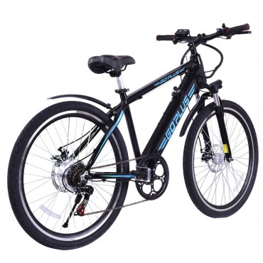 26 in. 350W 36V Electric Lithium Battery Mountain Bicycle