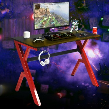 Headphone Mouse Pad And Cup Holder Storage Gaming Desk