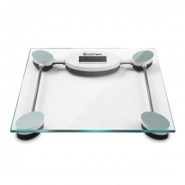 396 lb Personal Bathroom Glass Digital Weight Scale
