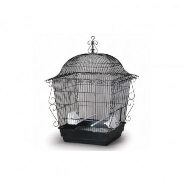 Elegant Scrollwork Bird Cage