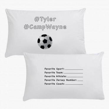 #CampWayne Sports Personalized Pillowcase