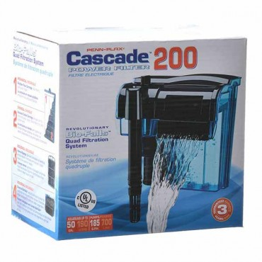 Cascade Power Filters - Cascade 200 - Up to 55 Gallons - 185 GP H