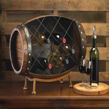 Cask Wine Bottle Rack