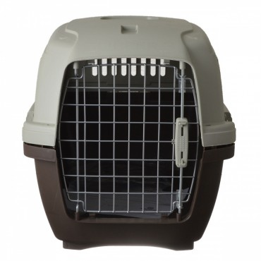 Marchioro Clipper Cayman Kennel - Brown - Cayman 3 - Pets 11-40 lbs 25 L x 17 W x 17 H