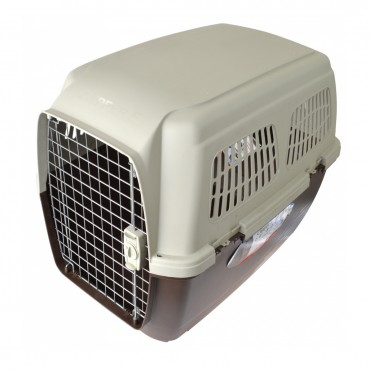 Marchioro Clipper Cayman Dog Kennel - Beige - Cayman 5 - 32.25 L x 22.25 W x 23.5 H