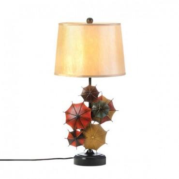Colorful Umbrella Table Lamp