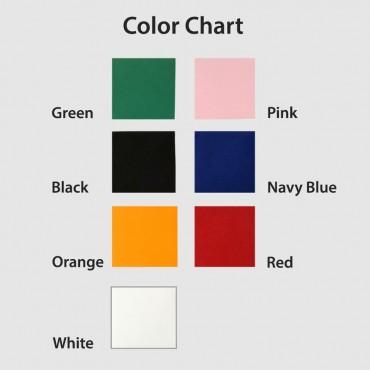 Colorful Felt Monogram Tablet Sleeve