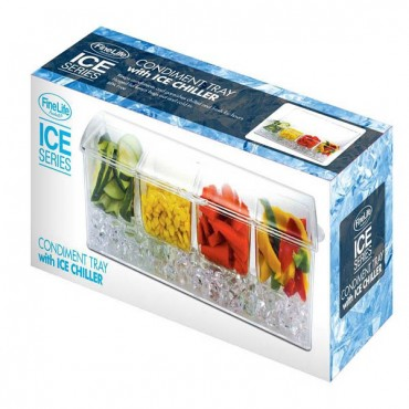 Condiment Tray Ice Chiller