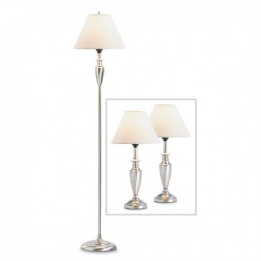 Contemporary Lamp Set