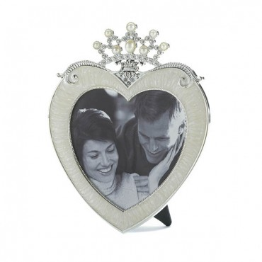 Crown Heart Picture Frame 5 X 5