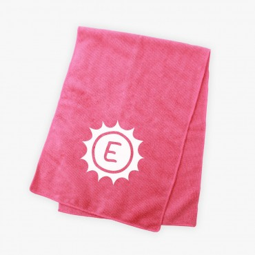 Custom Sunshine Bright Microfiber Terry Sport Towel