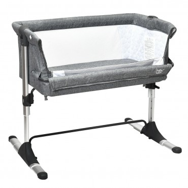 Portable Baby Bed Travel Bassinet Crib With Carrying Bag