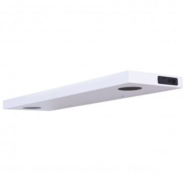 32 In. L Wall Mount Wireless Bluetooth Or USB Speaker Shelf