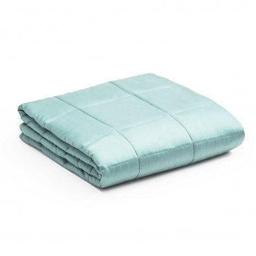 7 lbs 41 In. x 60 In. Premium Cooling Heavy Weighted Blanket