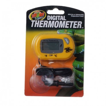 Zoo Med Digital Terrarium Thermometer - Digital Terrarium Thermometer - 2 Pieces
