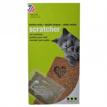 Van Ness Scratching Pad for Cats - Double Wide - 18.5 in. L x 9.5 in. W x 1.75 in. H