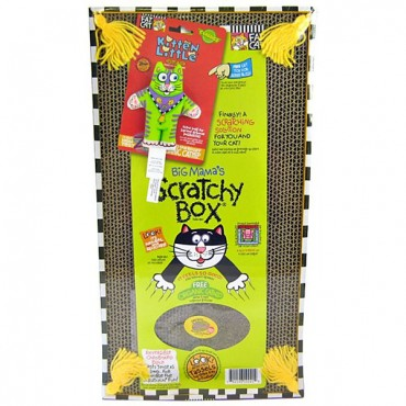 Fat Cat Big Mama's Double Wide Scratchy Box - Double Wide Scratchy Box