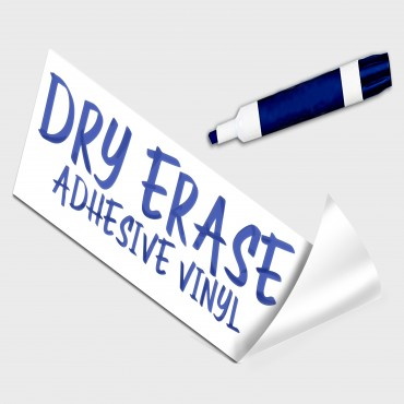 Dry Erase Adhesive Vinyl