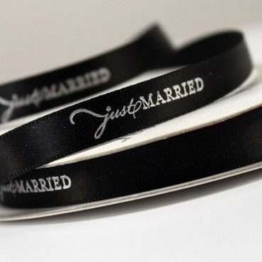 Just Married Ribbon