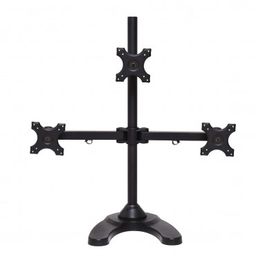Adjustable Monitor Mount For Triple LCD Flat Screen Monitor