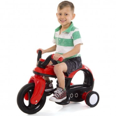 6 V Battery Powered Kids Riding Motorcycle Trike With 3 Wheels