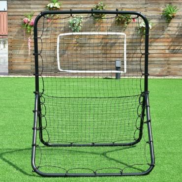 Baseball Softball Rebounder Throw Pitch Back Training Net