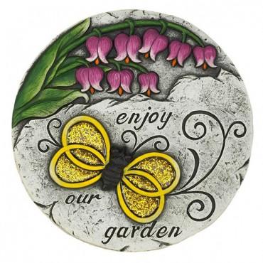 Enjoy Our Garden Stepping Stone