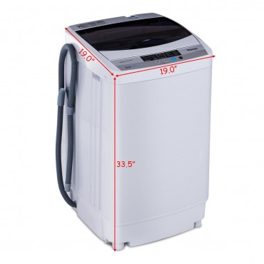 1.6 Cu.Ft. Portable Spin Compact Washing Machine