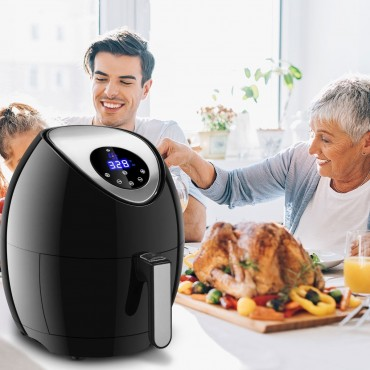 Free Temperature And Time Control Electric Air Fryer